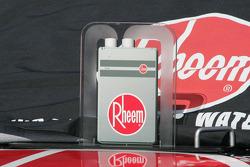 Pre-race grid detail