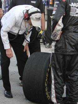 interesting tire wear