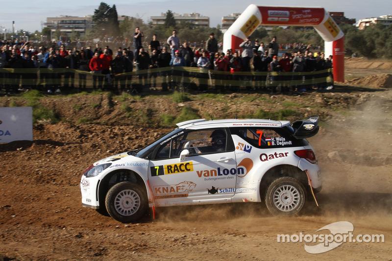 Hans Weijs Jr. en Bjorn Degandt, Citroën DS3 WRC