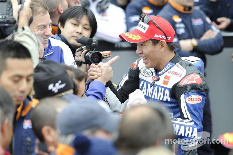 Second place Katsuyuki Nakasuga