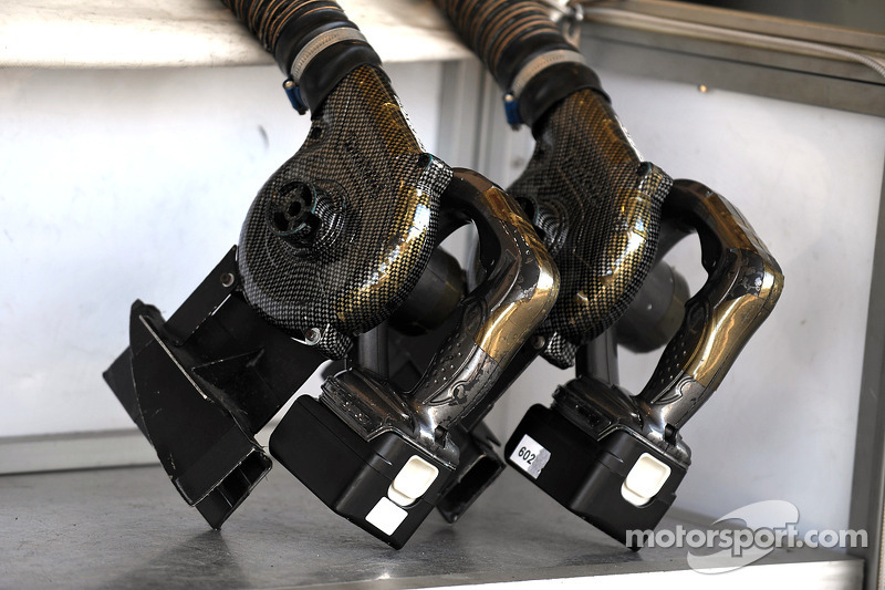 Sauber F1 Team ventilatie