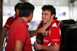 Fernando Alonso, Ferrari met Enrico Zanarini