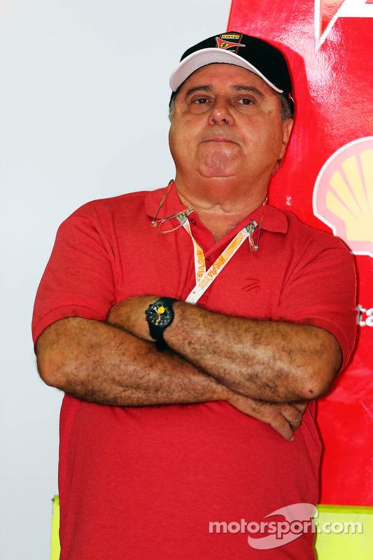 Luiz Antonio Massa, father of Felipe Massa, Ferrari
