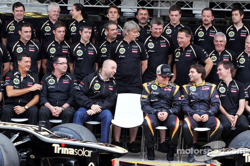 Lotus F1 Team teamfoto