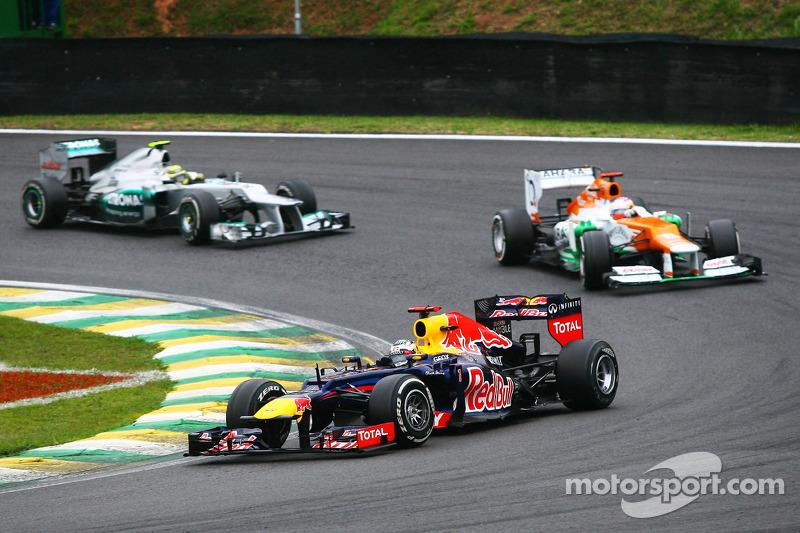 Себастьян Феттель. ГП Бразилии, Воскресная гонка.