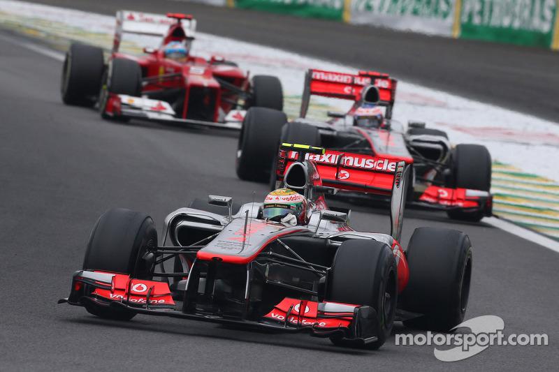 Última prova pela McLaren em 2012