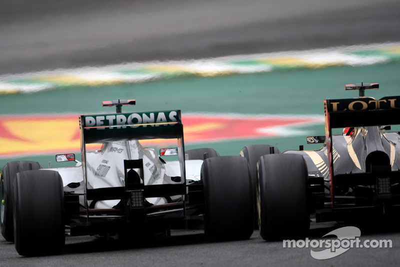 Михаэль Шумахер. ГП Бразилии, Воскресная гонка.