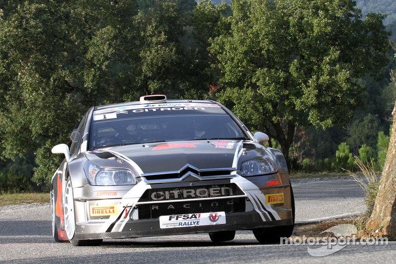 Robert Kubica en Emanuele Inglesi, Citroën C4 WRC