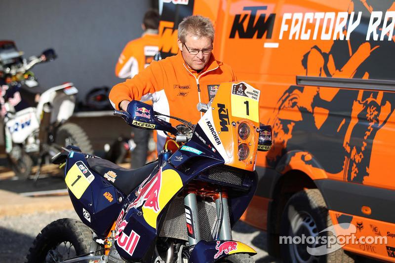 KTM team