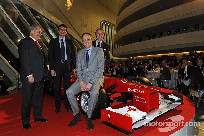 Ferrari diner bij El Reloj