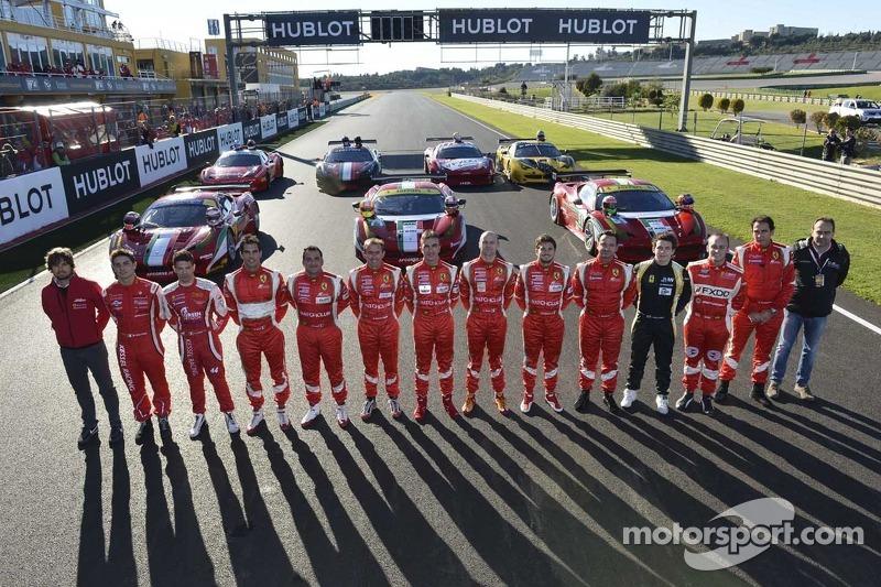 Ferrari GT rijders