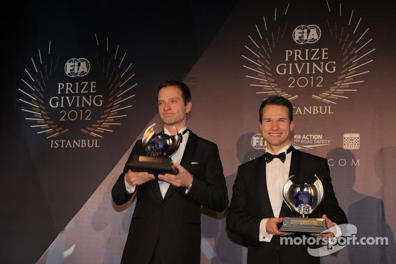 Микко Марккула и Юхо Хяннинен. Церемония награждения FIA, Стамбул, Турция, Особое мероприятие.