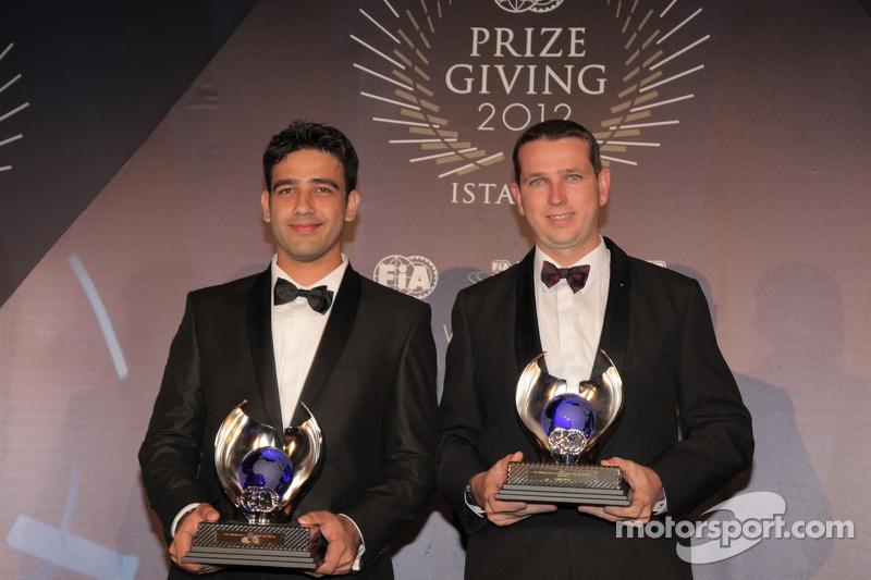 Мохамед Эсса и Грегори Стед. Церемония награждения FIA, Стамбул, Турция, Особое мероприятие.