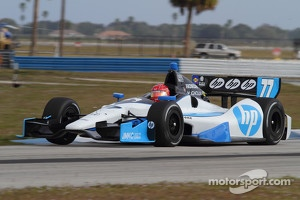 Vautier tested Pagenaud's #77 Schmidt Hamilton Motorsport Honda