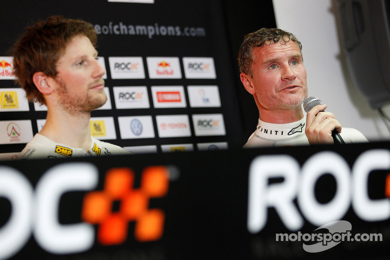 Romain Grosjean en David Coulthard