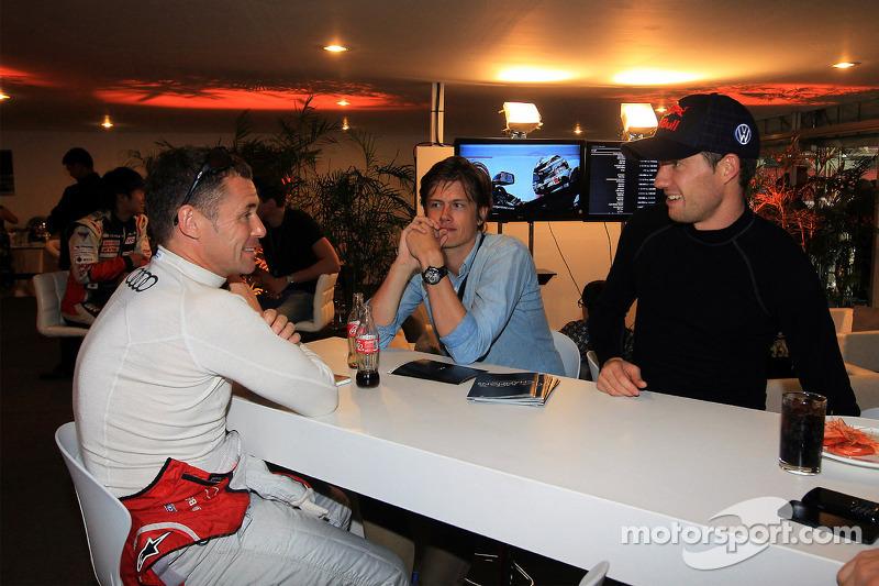 Tom Kristensen and Sébastien Ogier
