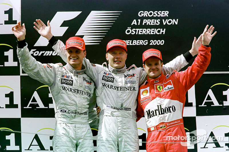 2000: Mika Hakkinen
