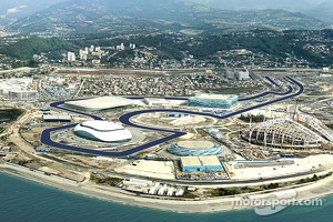 Overview of future Sochi F1 track