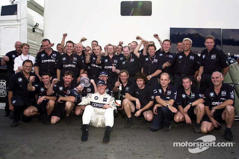 Ральф Шумахер. ГП Бельгии, Воскресенье, после гонки.