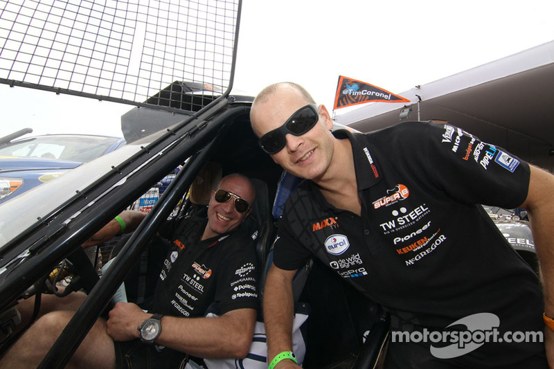 Юрген ван дер Горберг и Тим Коронель.