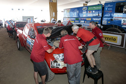 Team Dessoude during scrutineering