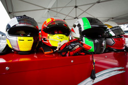 Helmets for Scuderia Corsa drivers