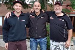 Denis Wolf, Philipp Krebs, Daniel Borer, podium