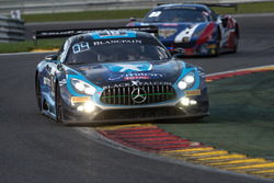 #18 Black Falcon Mercedes-AMG GT3: Габріеле П'яна, Абдулазіз аль-Фейсал, Юбер Хаупт, Ренгер ван дер Занде