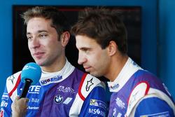 Robin Frijns, Amlin Andretti Formula E Team, and Antonio Felix da Costa, Amlin Andretti Formula E Team