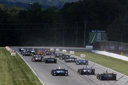 Вілл Пауер, Team Penske Chevrolet, Джозеф Ньюгарден, Team Penske Chevrolet лідирують на старті