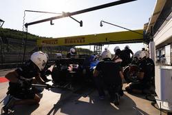 Gustav Malja, Sauber C36 mid pit stop