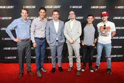Lucky Logan NASCAR movie screening