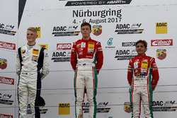 Podium: 1. Marcus Armstrong, Prema Powerteam, 2. Julian Hanses, US Racing, 3. Enzo Fittipaldi, Prema Powerteam