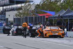 #2 CRP Racing Mercedes AMG GT3: Ryan Dalziel, Daniel Morad, Jordan Taylor, #8 Cadillac Racing Cadillac ATS-VR GT3: Michael Cooper, #3 Cadillac Racing Cadillac ATS-VR GT3: Johnny O'Connell, Ricky Taylor