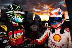 Yarış galibi Fabian Coulthard, Team Penske Ford, 2. sıra Chaz Mostert, Rod Nash Racing Ford