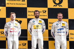 Podium: winner Timo Glock, BMW Team RMG, BMW M4 DTM, second place Marco Wittmann, BMW Team RMG, BMW M4 DTM, third place Maxime Martin, BMW Team RBM, BMW M4 DTM