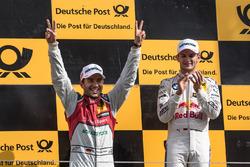 Podyum: Marco Wittmann, BMW Team RMG, BMW M4 DTM, Mike Rockenfeller, Audi Sport Team Phoenix, Audi RS 5 DTM