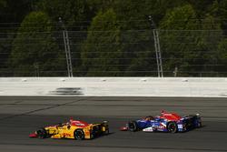 Ryan Hunter-Reay, Andretti Autosport Honda, Alexander Rossi, Curb Herta - Andretti Autosport Honda