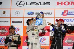 Podium GT300: third place #87 JLOC Lamborghini GT3: Shinya Hosokawa, Kimiya Sato