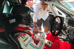 Cosimo Barberini, test Alfa Romeo Giulietta TCR