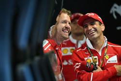 Sebastian Vettel, Ferrari et Marc Gene, Ferrari