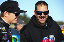 Noah Gragson, Kyle Busch Motorsports Toyota crew man Brandon Barr