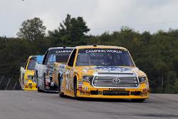 Todd Gilliland, Kyle Busch Motorsports Toyota and Parker Kligerman, Henderson Motorsports Toyota