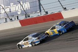 Джимми Джонсон, Hendrick Motorsports Chevrolet и Райан Ньюман, Richard Childress Racing Chevrolet