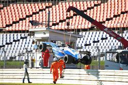 Kamui Kobayashi, KCMG after his crash