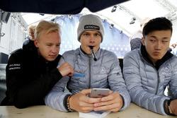 Никита Мазепин и Ральф Арон, Hitech Grand Prix, Гуанью Жоу, Prema Powerteam