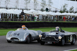 Freddie March Memorial Trophy: Chris Ward Cooper Jaguar Rob Hall Aston Martin DB3