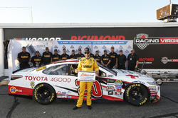 Polesitter: Matt Kenseth, Joe Gibbs Racing Toyota