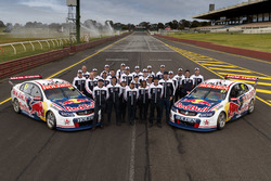 Jamie Whincup, Paul Dumbrell, Shane van Gisbergen, Matthew Campbell, Triple Eight Race Engineering