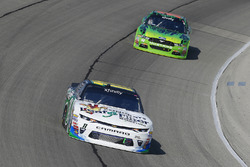 Blake Koch, Kaulig Racing Chevrolet and Darrell Wallace Jr., Biagi-DenBeste Racing Ford